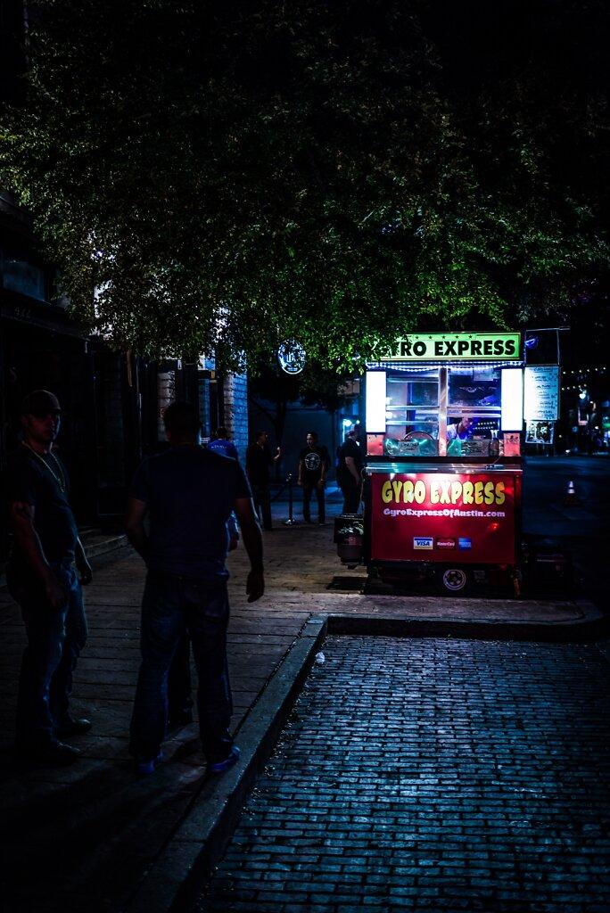The Night Vendor.