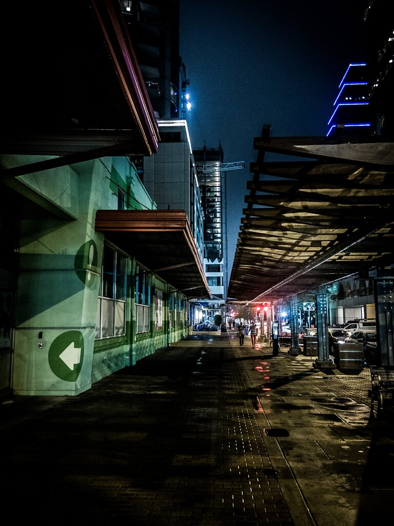 A Night On Second Street.