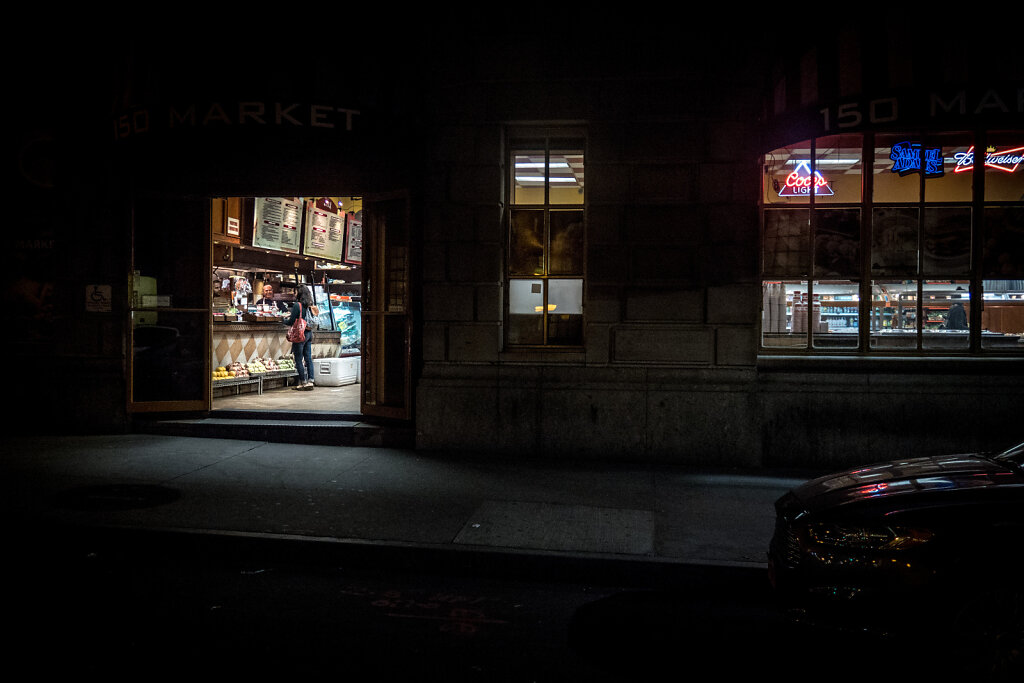 Store, lower Manhattan.