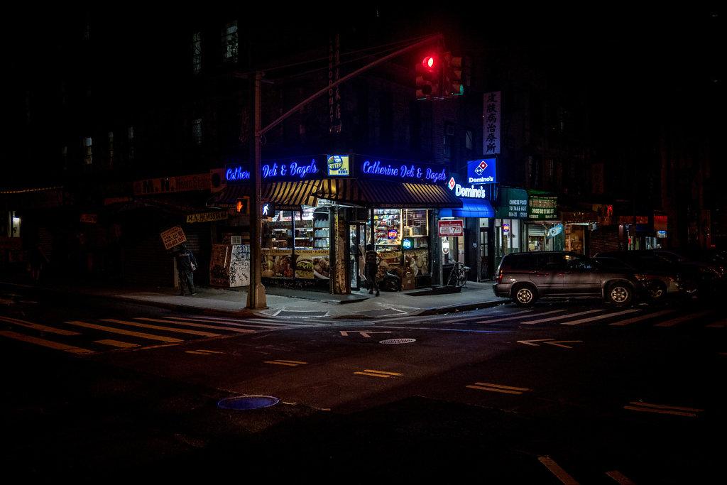 Street corner, Chinatown.