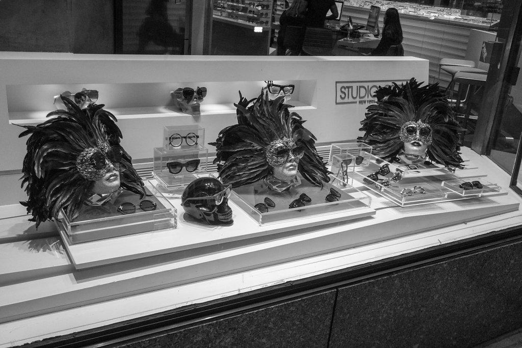 Store window in Midtown Manhattan.